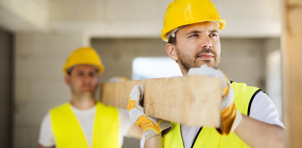 Työnvälityksen kautta rakennusapulaisia